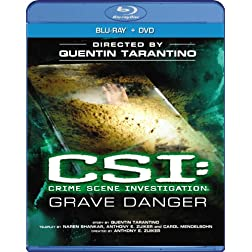 "CSI: Crime Scene Investigation - ""Grave Danger"" (Two-disc Blu-ray/DVD Combo)"