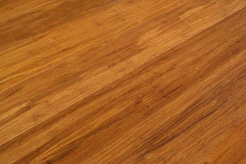 Strand Woven Bamboo Caramel Solid Plank Flooring with Valinge G5 Lock