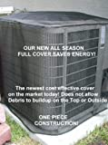 "Air Conditioner Cover All Season 36""x36""x36""ht .....ALMOND ..... and Custom ht. is available at no extra charge. Is your A/C unit full of leaves?.....The only cover you can use all year even when it is running!.....Full 5 year manufacturer's warranty."