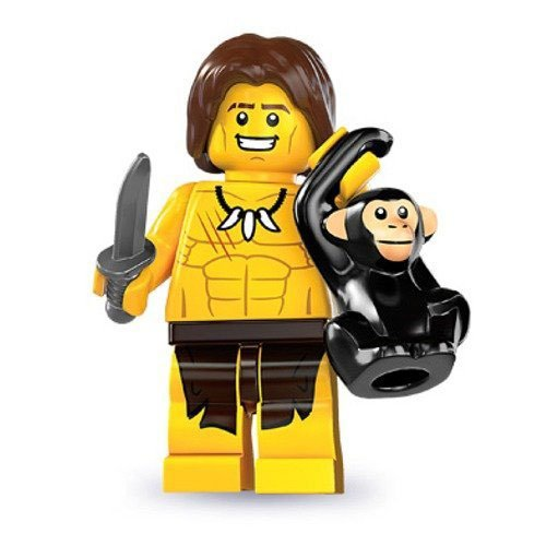 Lego Series 7 Jungle Boy Mini Figure - 1