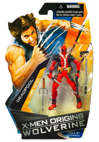 X-Men Origins Wolverine Comic Series 3 3/4 Inch Action Figure Deadpool