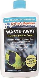 DrTim\'s Aquatics Waste-Away Natural Aquarium Cleaner for Saltwater 16 ounce