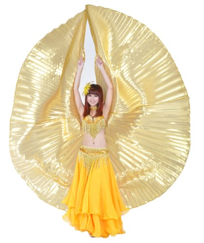 Dance Fairy Latest Exotic handmade Belly Dance big Isis Wings special stage Props