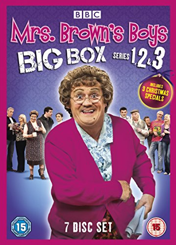 Mrs Brown'S Boys - Big Box - Series 1-3 [Edizione: Regno Unito] [Italia] [DVD]