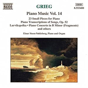 Edvard Grieg: Piano Music, Vol. 14