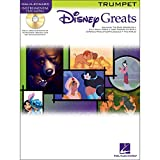 Hal Leonard Disney Greats for Trumpet Book/CD Instrumental Play-Along
