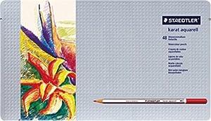 ステッドラー カラト水彩色鉛筆48色セット 125 M48