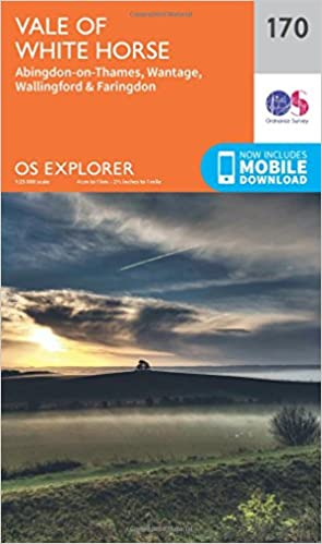 Oxfordshire walking map