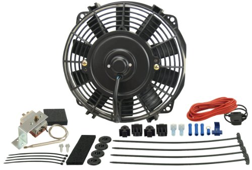 "Derale 16309 9"" Dyno-Cool High Performance Electric Fan"