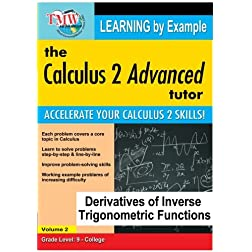 Calculus 2 Advanced Tutor: Derivatives of Inverse Trigonometric Functions