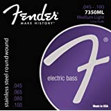 Fender 7350ML Stainless Steel Bass Guitar Strings