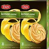 Dare Foods Lemon Creme Cookies 3 /12.3oz Boxes