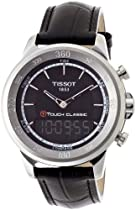 Tissot T-Touch Classic Black Quartz Touch Mens Watch T0834201605100
