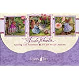1 X The Art of Susan Wheeler - Cute Greeted Card Assortment by Leanin' Tree - 20 cards with full-color interiors