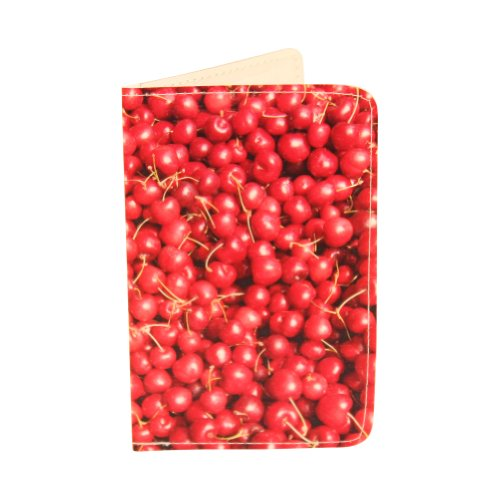 Farmer's Market Cherries Gift Card Holder & Wallet