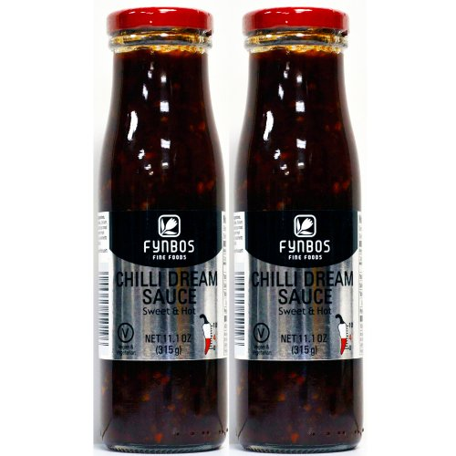 Fynbos Chilli Dream Sauce Sweet & Hot 2 Pack (South African Hot Sauce compare prices)