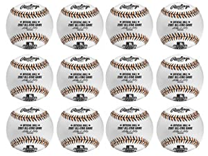 Rawlings Official Major League Baseball All-Star Game 2007 1 Dozen by Rawlings