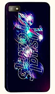 Pretty multicolor printed protective REBEL mobile back cover for Blackberry Z10 D.No.N-T-3577-BBZ10