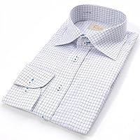 FALCHI NEW YORK(ファルチ ニューヨーク) ファルチ ニューヨークF-W S.BL #18ワイシャツ Falchi New York ワイシャツ本 体:ホワイト/ブルー系 ステッチ:スカイブルー(F-W SBL...