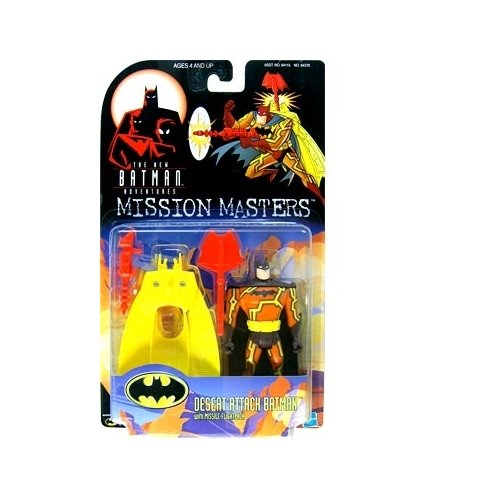 Batman: The New Batman Adventures Mission Masters Desert Attack Batman Action Figure