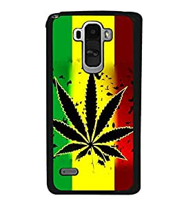 printtech Love Weed Back Case Cover for LG G4 Stylus ,Versions: H631 (T-Mobile); MS631 (Metro PCS); H635 (EMEA); H540 (UAE); H630D (India); H542 (Mexico)