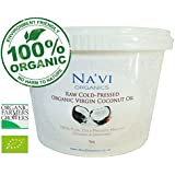 100% Pure Organic Raw Cold Pressed Extra Virgin Coconut Oil - (1kg)