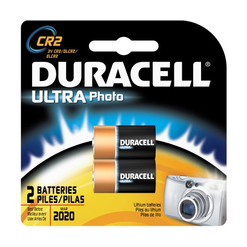 Duracell Ultra Batteries, Lithium Photo, 3V, 2 Ct.