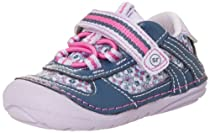 Stride Rite SRT SM Loretta Running Shoe (Infant/Toddler),Navy,5 M US Toddler