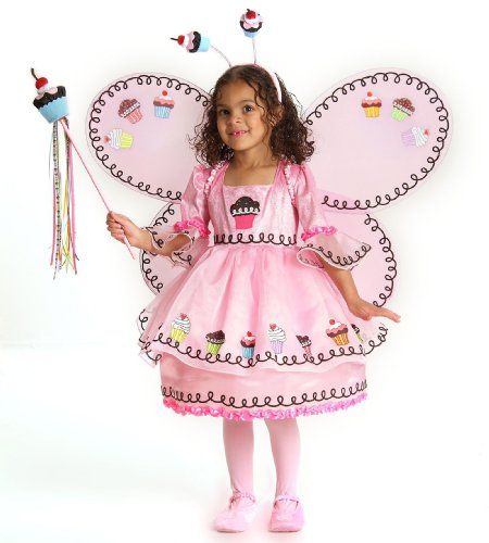 Cupcake Fairy Toddler / Child Costume, X-Small (4)