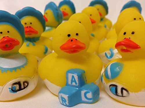 12 Ducks Rubber Ducky Baby Shower Party Favors Cake Decoration Party Supplies front-1039450