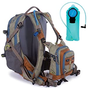 Fishpond tundra fly fishing tech chest pack backpack for Fishing backpack amazon