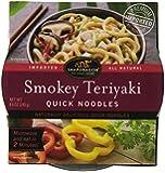 Snapdragon Quick Noodle, Smokey Teriyaki, 8.6-Ounce (Pack of 6)