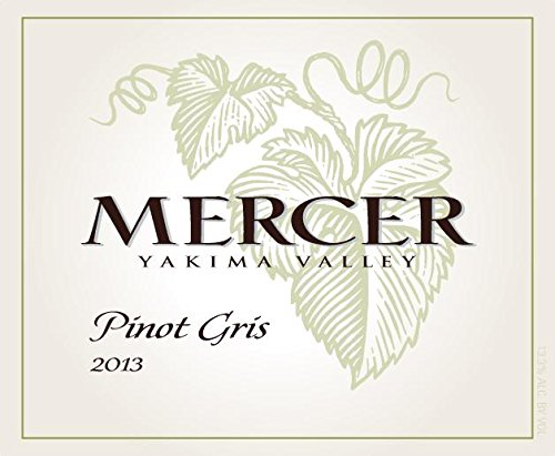 2013 Mercer Estates Yakima Valley Pinot Gris 750 Ml