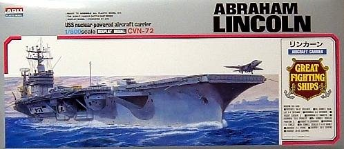 Buy U.S.S. Abraham Lincoln CVN-72 1-800 by Arii