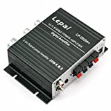 LEPAI LP2020A+ mini Digital T-Amp - Hi-Fi Stereo Amplifier TA2020, Tripath IC for Home, Boat or Car With Power Supplyby LEPAI