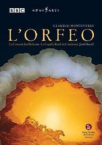 Monteverdi: L'Orfeo -- Savall [DVD]