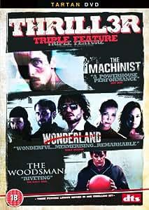 Thriller Triple - The Machinist//The Woodsman/Wonderland [2003] [DVD]