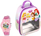 Disney Kids' PRS1113T Backpack and LCD Watch Set