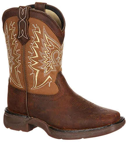 """Durango Kid'S 8"""" Let Love Fly Western Boot,Brown,8 M Toddler Kid front-330400"""