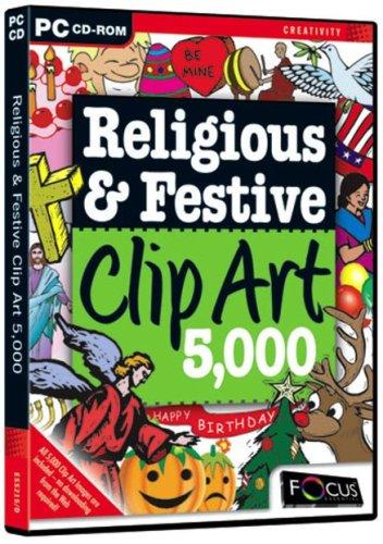 Religious & Festive Clip Art 5,000 (PC)