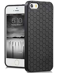 Fosmon DURA Series Honeycomb Case for Apple iPhone 5 - Black