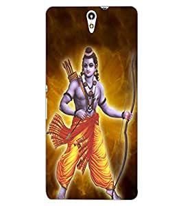 ColourCraft Lord Rama Design Back Case Cover for SONY XPERIA C5 ULTRA DUAL