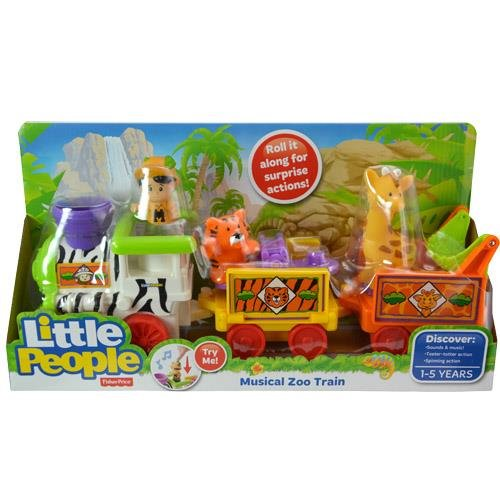 Little People Musical Zoo Train Sounds and Music (Fisher Price Musical Farm compare prices)