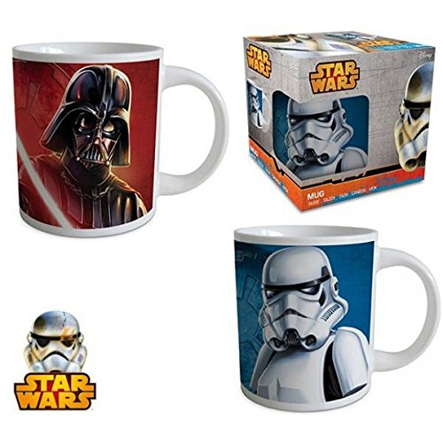 Star Wars Tazze (2 Motive) [240 Ml] [Edizione: Germania]