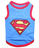Pet Clothes SUPERMAN Dog T-Shirt - Medium