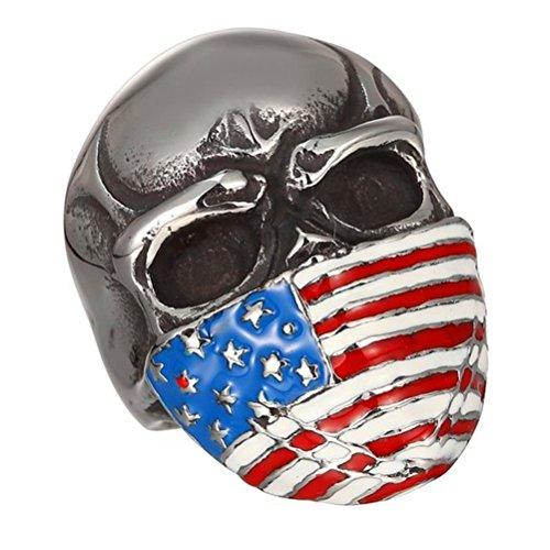 pauro-hommes-acier-inoxydable-epoxy-drapeau-americain-masque-bague-crane-vintage-moteur-biker-taille
