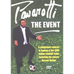 Luciano Pavarotti : The Event (The World Cup Celebration Concert) (1990) - DVD