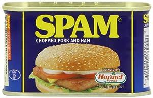 SPAM Original Chopped Pork and Ham 200 g (Pack of 6)
