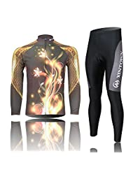 (Shipping with Express or Non-Express)2015 Fashion Cycling Jerseys Jersey For Men Long Sleeve Set Pants or bib...