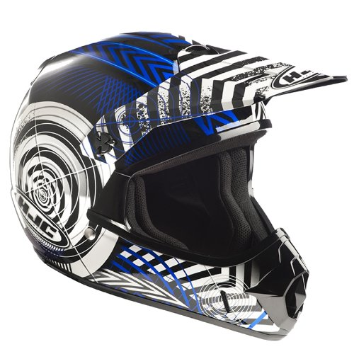 CXYWBLM - HJC CL-XY Wanted Motocross Helmet M Blue (MC2)